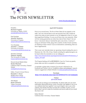 FCHS Newsletter April 2019 image 300 x 360